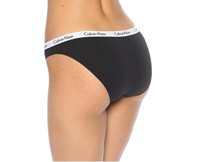 3 PACK - chiloți pentru femeiQD3588E-999 BLACK/WHITE/GREY