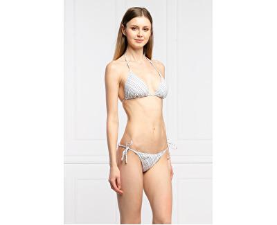 Női bikini alsó String Side Tie-Print kW0kW01041-0LA