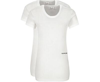 2 PACK - tricou pentru femei QS6198E-100 Alb-3