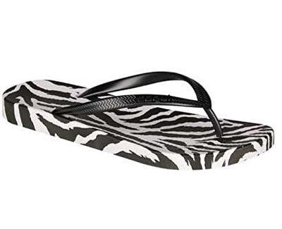 Infradito da donnaKaja Printed Zebra/Black 1327-235-3222