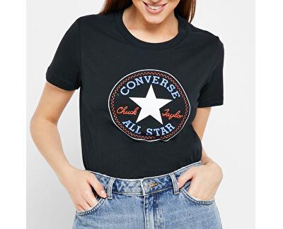 Tricou pentru femei Converse Chuck Patch Nova Tee Black