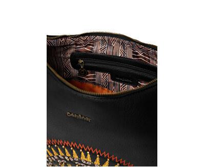 Geantă pentru femei Bols African Mandala Siberia Negro 20SAXP90 2000