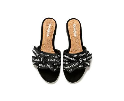 Șlapi pentru femei Shoes Mambo Negro 20SSSA02 2000