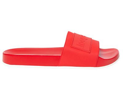 Șlapi pentru femei Shoes Slide Rojo Roja 20SSHP04 3061