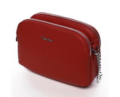 Borsa da donna tracolla Red 6412-2