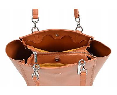 Dámská kabelka CM5719 Cognac