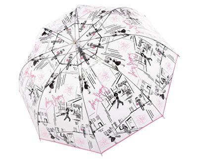 Ombrello da donna automaticoFiberLong Automatic transparent St. Tropez 7405427S