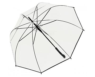 Umbrelă pentru femei de tip baston HitLong Automatic transparent Glocke77354B 01