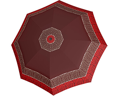 Umbrelă pliabilă automată Hit Mini Classic  7202165P dot Red
