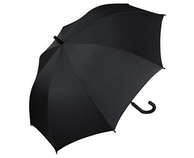 Umbrelă pentru bărbați Gents Long AC Needle Stripe Black