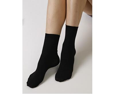 3 PACK - dámské ponožky Pohoda 999 černé