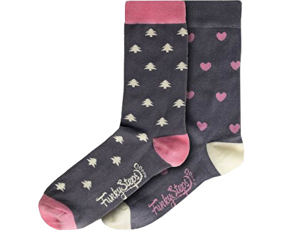 2 darab - női zokni FSA444