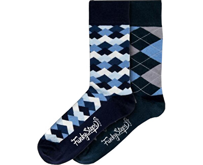 2 PACK - férfi zokni FSA454
