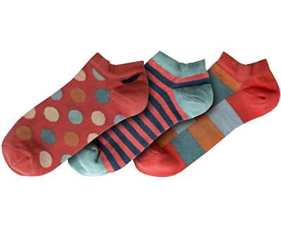 3 PACK - női zokni FSA432