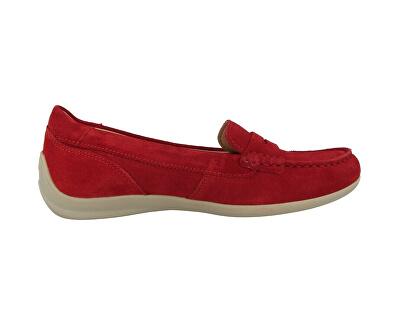 Mocasini pentru femei D Yuki Red  D0255B-00022-C7000