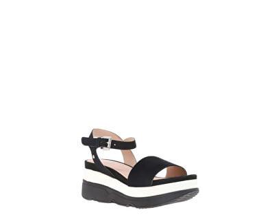 Sandale pentru femei D Gardenia Black D02HBC-00021-C9999