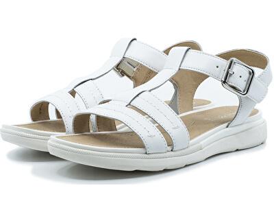 Sandale damăD Sandal Hiver White D02GZB-00043-C1000