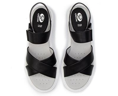 Sandale damăD Tamas Black D02DLD-000BC-C9999