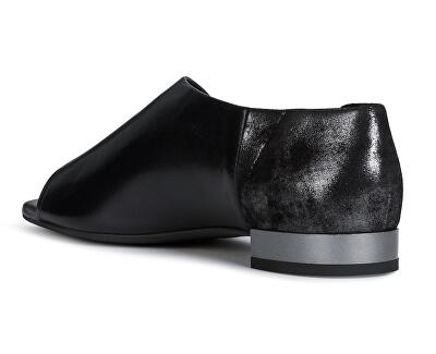 Sandale pentru femei D Wistrey Sandalo Black D724HA-0TU77-C9999