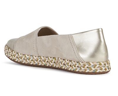 Balerini pentru femei D Modesty Sand/Lt Gold D8229A-021NF-C5258