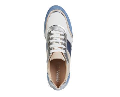Sneakers da donna D Tabelya Lt Blue / WhiteD02AQA-02211 -C0004