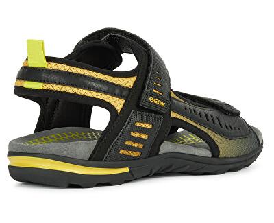 Sandali da uomo U Tevere Black/Yellow U029CC-0BC14-C0054