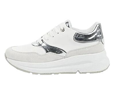 Sneakers da donna D BacksieWhite / Silver D02FLC-085BN-C0007