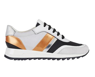 Sneakers da donna D Tabelya Lt White / BlackD02AQA-02211 -C1351