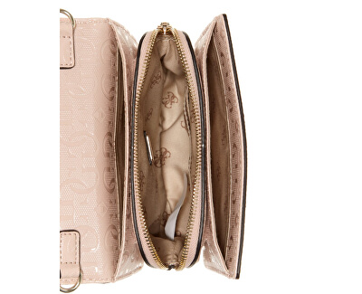 Női crossbody kézitáska Chic Shine Mini Crossbody Flap HWSG77 46780 blush-bls