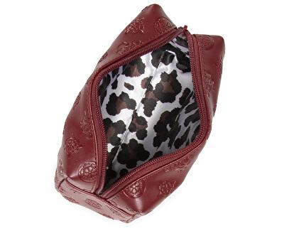 Női kozmetikai táska  Annabel Top Zip PWANNA P0414 burgundy-bur