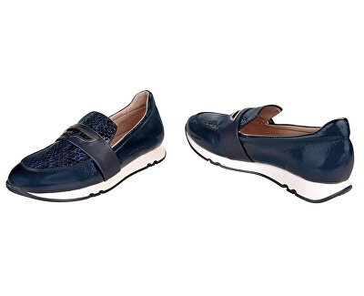 Női mokaszin cipő HI00764 Marine