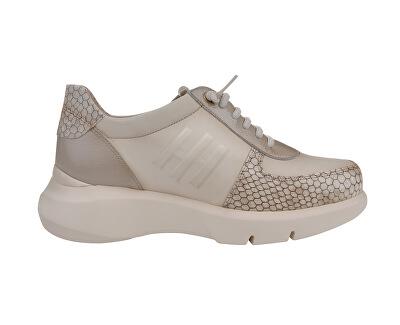 Női bőr sportcipő BHI00467 Vainilla