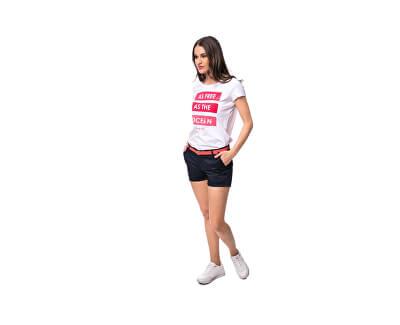 Dámské triko Myran white C4S20288WH