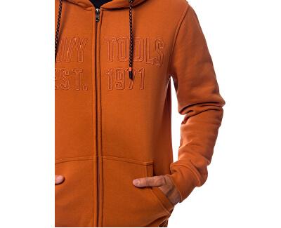 Pánska mikina Storu orange W19-110