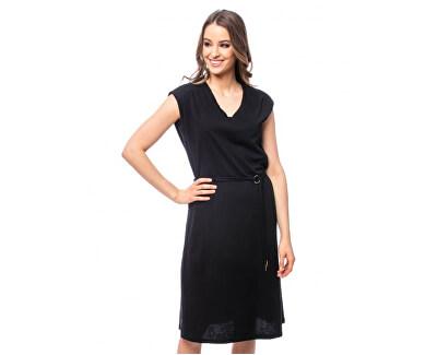 Dámské šaty Viene black E9S20290BL