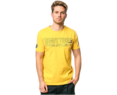 Pánské triko Militar yellow C3S20117YE