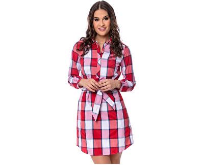 Dámské šaty Vocal20 checked E9S20466CK