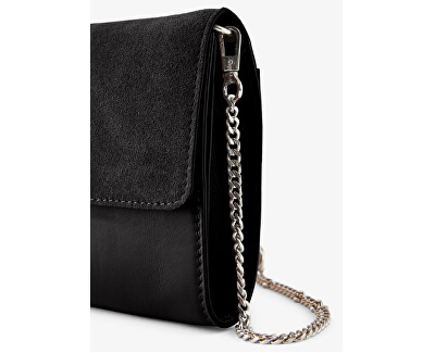 Dámska crossbody kabelka PCHILDA LEATHER CROSS BODY Black