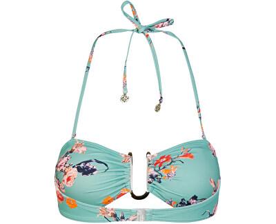 Bikini reggiseno da donna PCNYNNE 17101717 Malachite Green AOP:FLOWER PRINT
