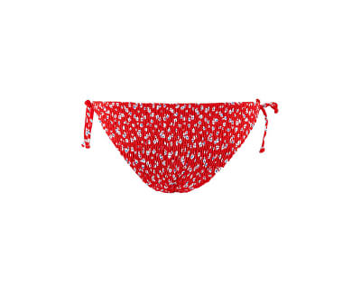 Női bikini alsó PCNIKITA 17101703 High Risk Red AOP:FLOWER PRINT