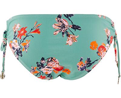 Badeanzug-Slips für Frauen PCNYNNE 17101719 MalachiteGreen AOP: Blumendruck