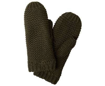 Mănuși pentru femei PCDACE WOOL MITTENS Forest Night