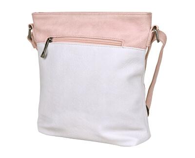 Dámská crossbody kabelka 3852 Beige/Pink