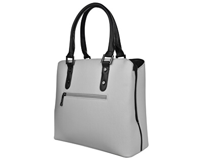 Dámská kabelka 3824 Grey/Black