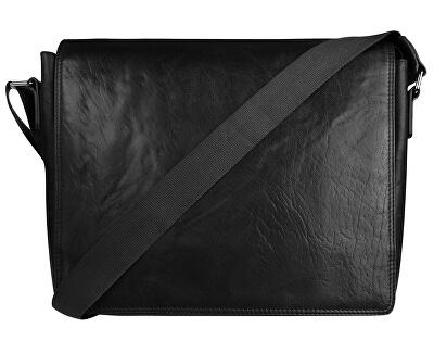 Pánská kožená taška 40036 Black