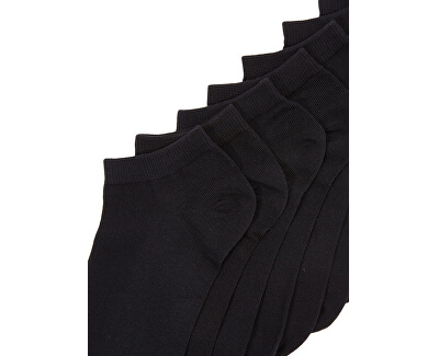 10 PACK - pánské ponožky JACDONGO 12172337 Black