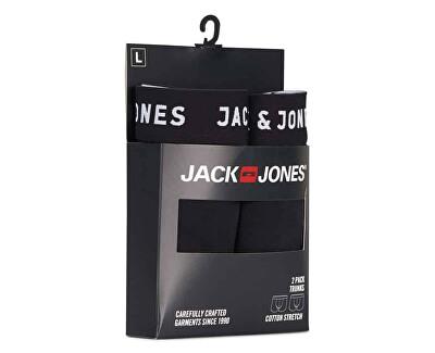 2 PACK - pánské boxerky JACJON 12138235 Black