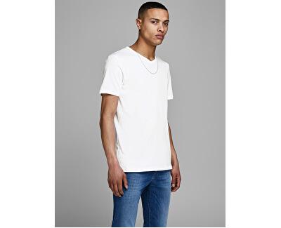 2 PACK - pánské triko JACBASIC 12133914 White