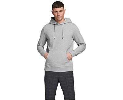 Férfi pulóver JJEBASIC 12182537 Light grey Melange
