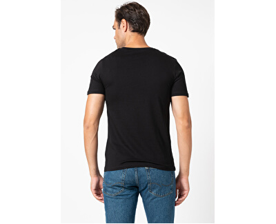 Herren T-Shirt JJBARISTA 12175196 Black
